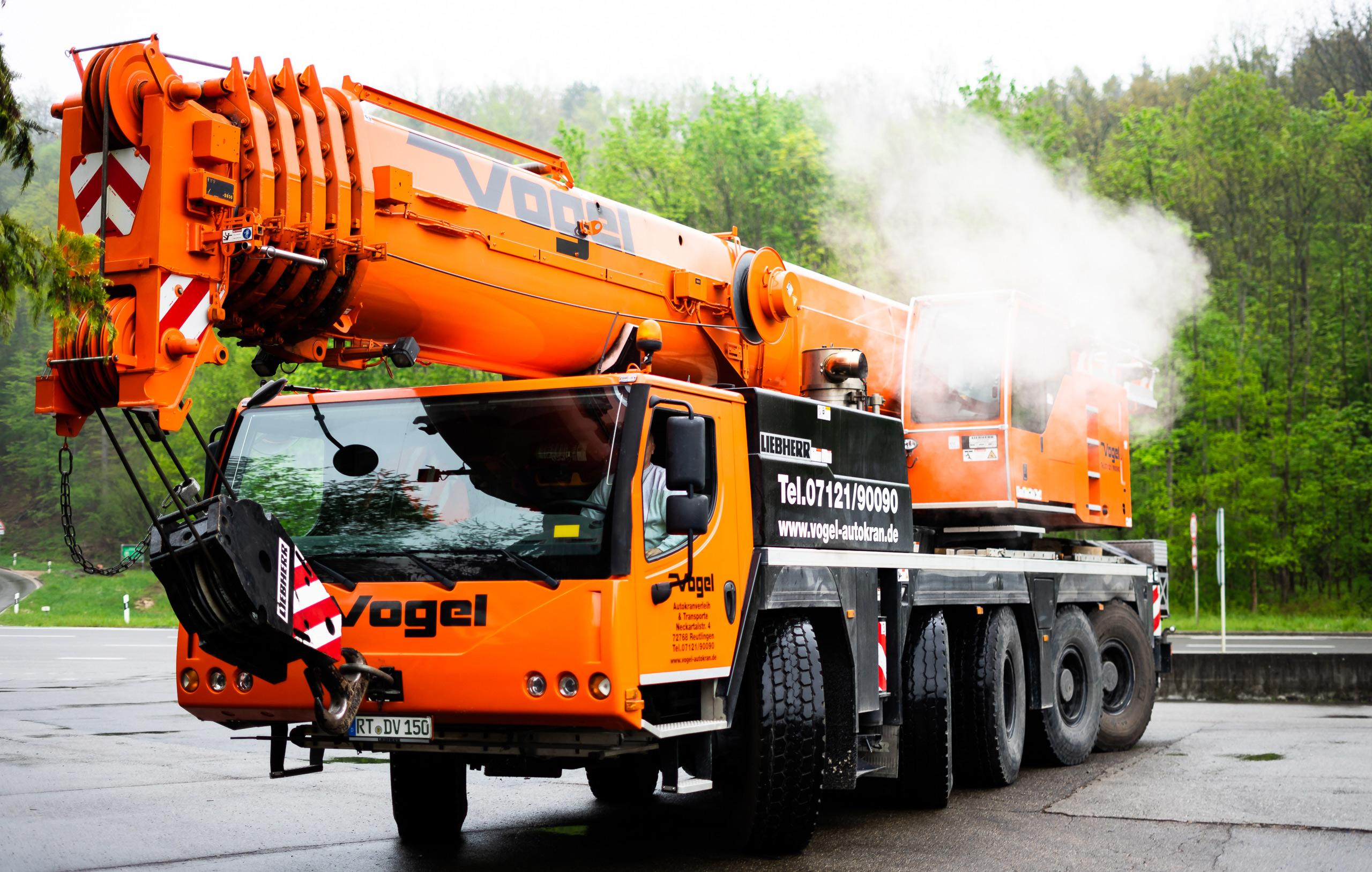 Volle Kraft – Unser 140 Tonnen Autokran