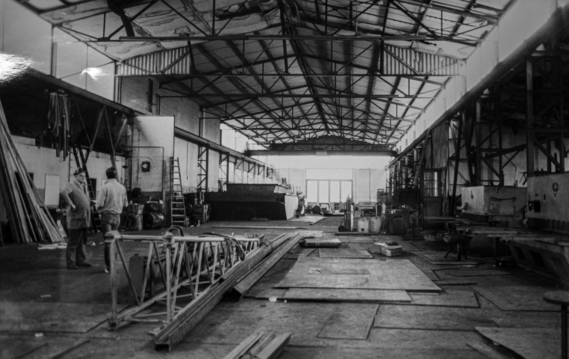 Montagehalle - Unternehmenschronik